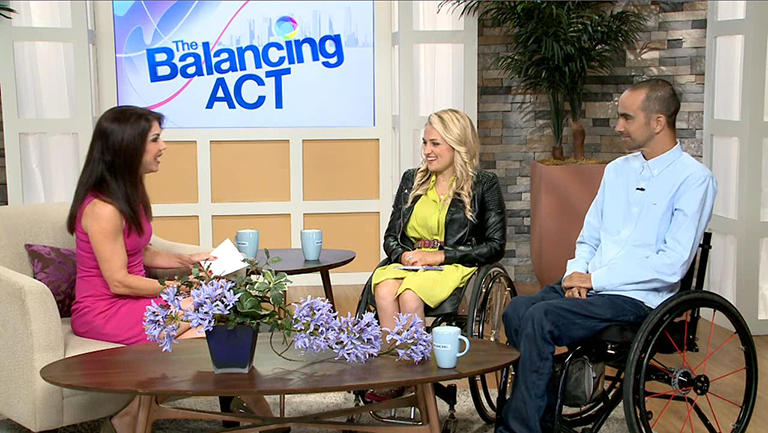 LoFric Catheters featured on The Balancing Act TV